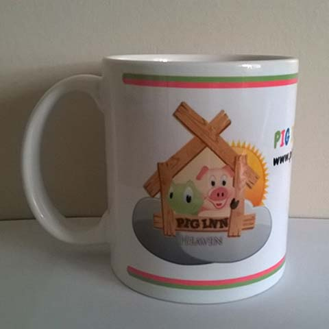 Pigs Inn Heaven Mug