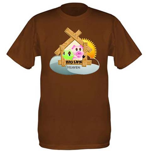 Pigs Inn Heaven T-shirt